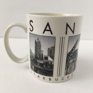 Starbucks 2003 Skyline City San Diego Coffee Mug